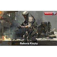 ' Call Of Duty' Oyunu Rekor Kırdı (Video)