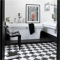Siyah - Beyaz Banyolar