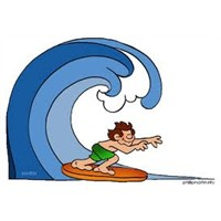 Hayatta Dalgaları Durdurmaya Çalışma, Sörf Yap..