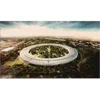 Apple Kampusune Uzay Gemisi Gibi Bir Bina
