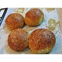 Gerçek Hamburger Ekmeği Tarifi