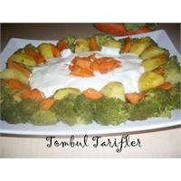 Buharda Brokoli Salatası