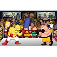 Simpsonlar'a Family Guy Misafir Olursa?