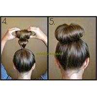 Az Saçla, Gür Görünümlü Topuz Yapmak Çok Kolay