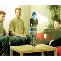 3d Hologram İle Cep Telefonlarından İletişim