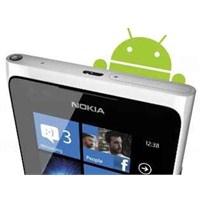 Android Kullanan Nokia Telefonlar'mı Geliyor?