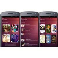 Ubuntu Mobil İşletim Sistemi Resmen Geliyor