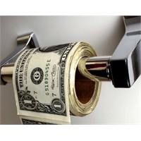 Tuvalet Kağıdı Yerine Para