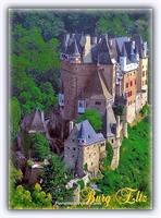 Almanya-burg Eltz Kalesi