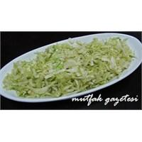 Beyaz Lahana Salatası Tarifimiz