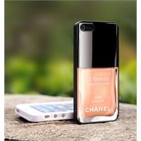 Chanel Oje Şişeli İphone Kılıfları