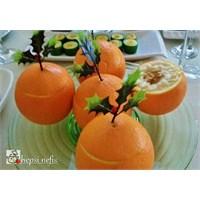 Portakallı Cevizli Kereviz Salatası