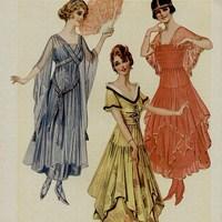 1900lerde Giyim Ve Moda