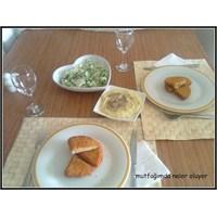 Akşam Yemeği Sofrası Ve Menüm