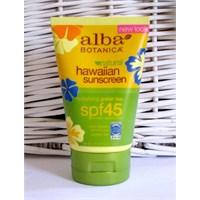 Alba Botanica Hawaiian Sunscreen Spf45