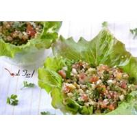 İnce Bulgur Salatası / Meze (Lübnan Mutfağı)
