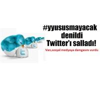 Twitter'da Yüzüncü Yıl Üniversitesi Damgası