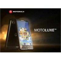 Motorola'nın Motoluxe Modeli Türkiye'de