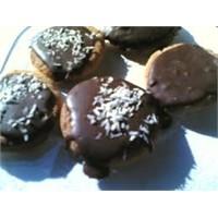 Pratik Ve Kolay Çikolatalı Kurabiye