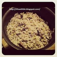 Öğrenci İşi Yemek Tarifi: Mantarlı Pilav