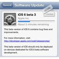 İos 6 Beta 3 Yayınlandı!