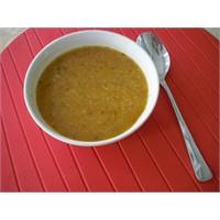Bulgurlu Kimyonlu Mercimek Çorbası