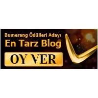 3. Bumerang Ödülleri (En Tarz Blog) Adayı