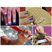 Olimpiyat Oyunlarında Nail Art Çılgınlığı