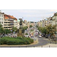 Prag Yeni Şehrin Kalbi - Wenceslas Square