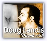 Doug Landis in Elleri Olmadan Yaptığı Karakalem Ça