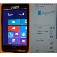 Htc Hd2'ye Windows Rt