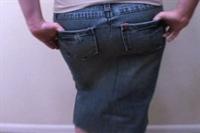 Eski Kot Pantalonunuzdan Yeni Bir Etek Yapın !
