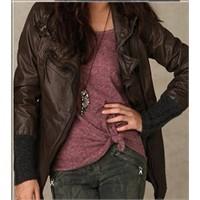2011 deri ceket modası