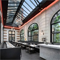 Charles Zana'dan Paris Café Artcurial Aydınlatma