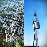 Çamlıca Tepesi, Tv - Radyo Ve Seyir Kulesi