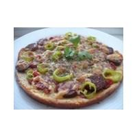 Düşük Kalorili Diyet Pizza