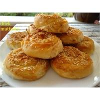 Kıymalı-- Patatesli Gül Börek