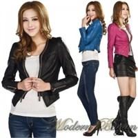 2014 Sonbahar- Kış Bayan Deri Ceket Modelleri