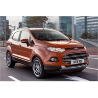 2014 Ford Ecosport'un Avrupa Versiyonu Tanıtıldı