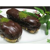Ekler-bitter Çikolatalı