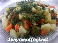 Sebze Dolu Tabak Brokoli Salatası