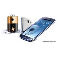 Samsung Galaxy S3' E Batarya Desteği!