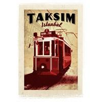 Türkiye Posterleri: Taksim'de Tramvay