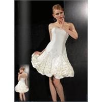First Lady Beyaz Renk Abiye Elbise Modelleri