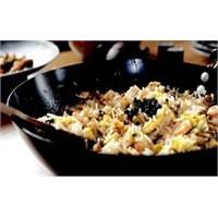 Şitaki Mantarlı Tavuklu Japon Pilavı
