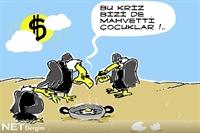 Akbabalar Da Krizde – Karikatür