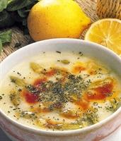 Yoğurtlu Bamya Çorbası