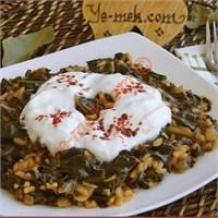 Zeytinyağlı Ispanak (Resimli)