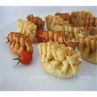 Peynirli Pileli Krepler Disalce