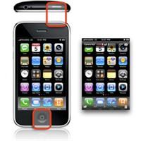 İphone / İpad Ekran Görüntüsünün Resmini Çekmek